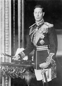 King George VI of England, circa 1940-1946